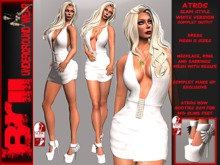 **ATROS WHITE VERSION GLAM STYLE COMPLET OUTFIT ** Brii **