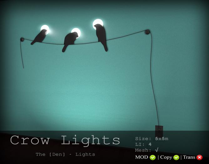 Crow Lights - The [Den.] Lights