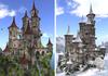 """Castle """"Ancient Grace"""" 197 Li Winter&Summer"""