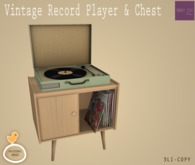 Serenity Style-Serenity Style- VINTAGE RECORD PLAYER AND CHEST