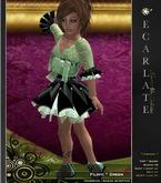 EcarlateKids - Filinyi - Green - Dress Gown