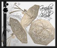 Ombrella Beige Lace / Ombrelle Beige dentelle - Tonya