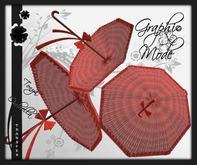 Ombrella Red / Ombrelle Rouge - Tonya