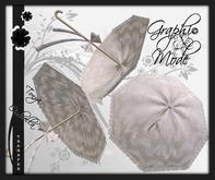 Ombrella White Lace / Ombrelle Blanche dentelle - Tonya