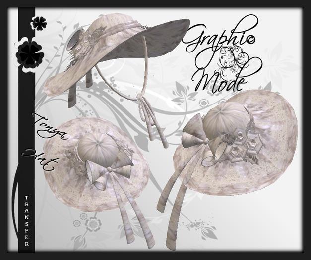 Hat White Lace / Chapeau Blanche dentelle - Tonya