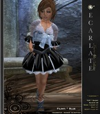 EcarlateKids - Filinyi - Blue - Dress Gown