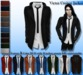 [Syn] Victor Jacket with Shirt (Texture & Color HUD)