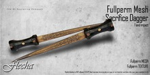 FLECHA Sacrifice dagger fullperm