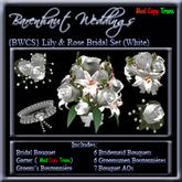 [BWCS} Rose & Lily Wedding Set