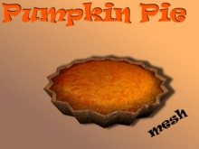 pumpkin pie full perm