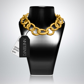1992 // Chained Choker (Gold)