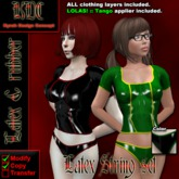 KDC Latex String Set (black/green)