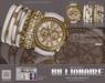 UNISEX [MANDALA]BILLIONAIRE-WATCH_Fashionista(white)