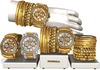 Gold watch 2 mandala