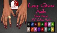 IAF Long Glitter Nails (Slink Hands) (Casual)