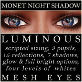 Mayfly - Luminous - Mesh Eyes (Monet Night Shadow)