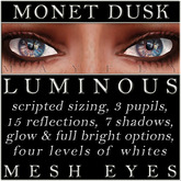Mayfly - Luminous - Mesh Eyes (Monet Dusk)