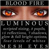 Mayfly - Luminous - Mesh Eyes (Blood Fire)
