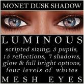 Mayfly - Luminous - Mesh Eyes (Monet Dusk Shadow)