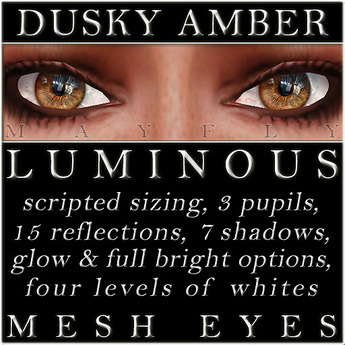 Mayfly - Luminous - Mesh Eyes (Dark Olive)