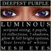 Mayfly   luminous   mesh eyes %28deepest purple%29