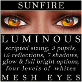 Mayfly - Luminous - Mesh Eyes (Sunfire)