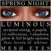 Mayfly - Luminous - Mesh Eyes (Spring Night)