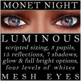 Mayfly - Luminous - Mesh Eyes (Monet Night)