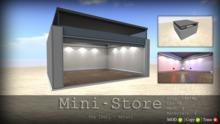 Mini - Store - The [Den.] Retail Container 50% SALE