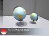 [DD] - FULL PERM World Globe Map