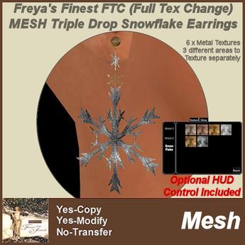 Freya's Finest FTC Gothic Cross LipRing-WEAR/ADD TO AUTO-UNPACK