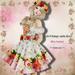 ***Ambrosia***Mesh:Vintage satin dress[Rose Garden]