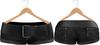 Blueberry Chlo - Mesh - Leather Belted Denim Shorts (Belleza Venus Compatible) Black