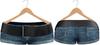 Blueberry Chlo - Mesh - Leather Belted Denim Shorts (Belleza Venus Compatible) Ocean