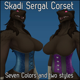 [agu] Skadi Sergal Corset pack - small
