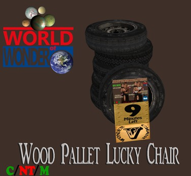 WoW Wonder Chair Pallets (Random Prize Generator)