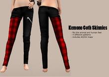 krankhaus - Kemono Goth Skinnies