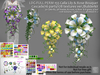 LDG-FULL PERM 155 Calla Lily & Rose Bouquet Cascade /16 parts/178 textures ver./Builderkit