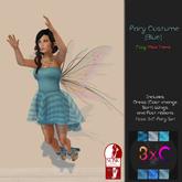 3xC-Fairy Costume {Blue}