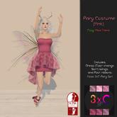 3xC-Fairy Costume {Pink}