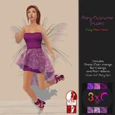 3xC-Fairy Costume {Purple}