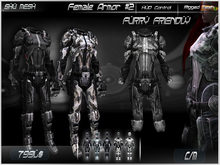 Female Armor #2 -Shu Mesh-