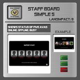 EMU Staff Board 5
