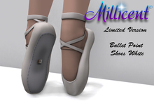 .:*Millicent*:. Ballet point shoes - White (Limited Version)