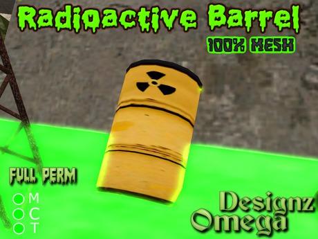 Radioactive Barrel (Mesh) Full Perm