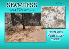 Vita Frozen Grass Seamless 1024