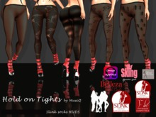 Hold on Tights wowmeh physique slink socks - MusiQ