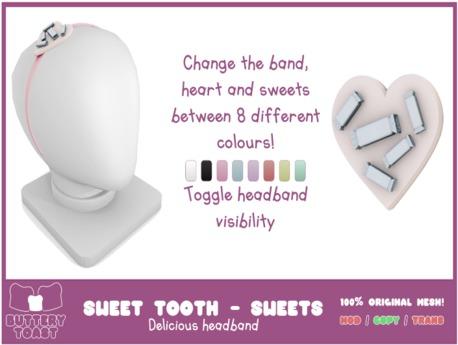 -Buttery Toast- Sweet Tooth headband - Sweeties