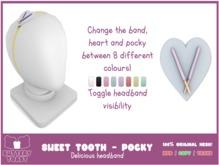 -Buttery Toast- Sweet Tooth headband - Pocky
