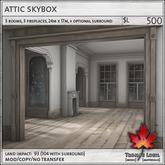 Trompe Loeil - Attic Skybox V1.1 [mesh]